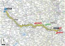 Stage profile | Tour de France | Stage 4 | Reims-Nancy (213.5 km)