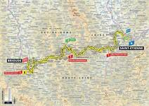 Stage profile | Tour de France | Stage 9 | Saint-Étienne-Brioude (170.5 km)