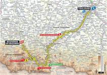 Stage profile | Tour de France | Stage 12 | Toulouse-Bagnères-de-Bigorre (209.5 km)
