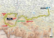 Stage profile | Tour de France | Stage 15 | Limoux-Foix Prat d'Albis (185 km)