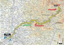 Stage profile | Tour de France | Stage 17 | Pont du Gard-Gap (200 km)
