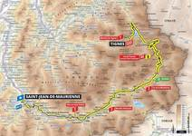 Stage profile | Tour de France | Stage 19 | Saint-Jean-de-Maurienne-Tignes (126.5 km)
