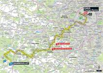 Stage profile | Tour de France | Stage 21 | Rambouillet-Paris Champs-Élysées (128 km)
