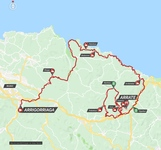Stage map | Itzulia Basque Country | Stage 5 | Arrigorriaga-Arrate (149.8 km)